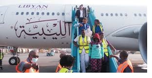 lybia returnees
