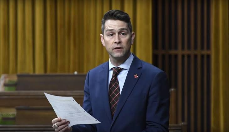 Canadian MP caught on camera urinating during live video
